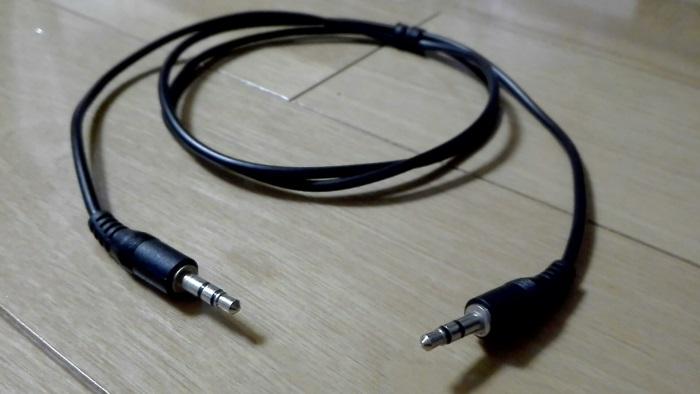 両端ピンジャックケーブル AUX接続 オーディオケーブル
