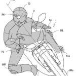 【特許紹介】バイクの運転手の姿勢を検出して制動力と駆動力を制御する特許発明(ホンダ)